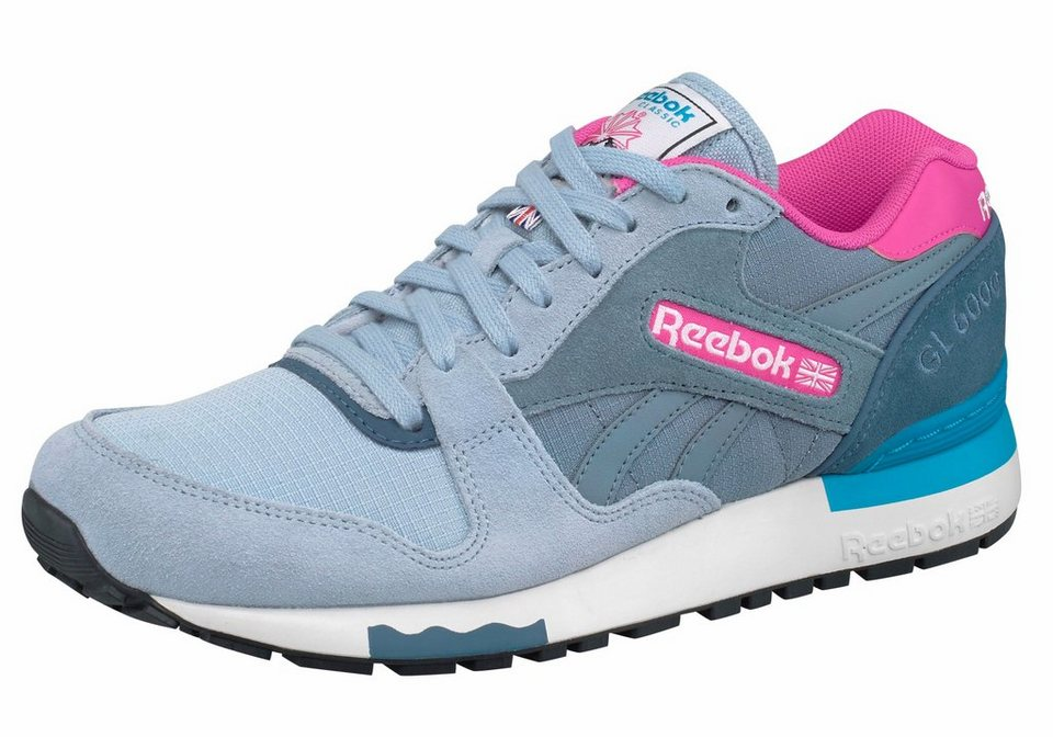 Reebok »GL 6000 Out-Color« Sneaker in graublau-pink