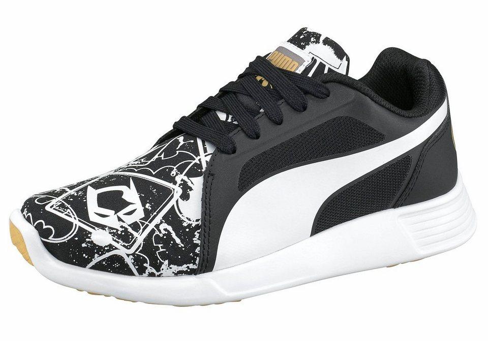 PUMA »ST Trainer Evo Batman St« Sneaker in schwarz-weiß