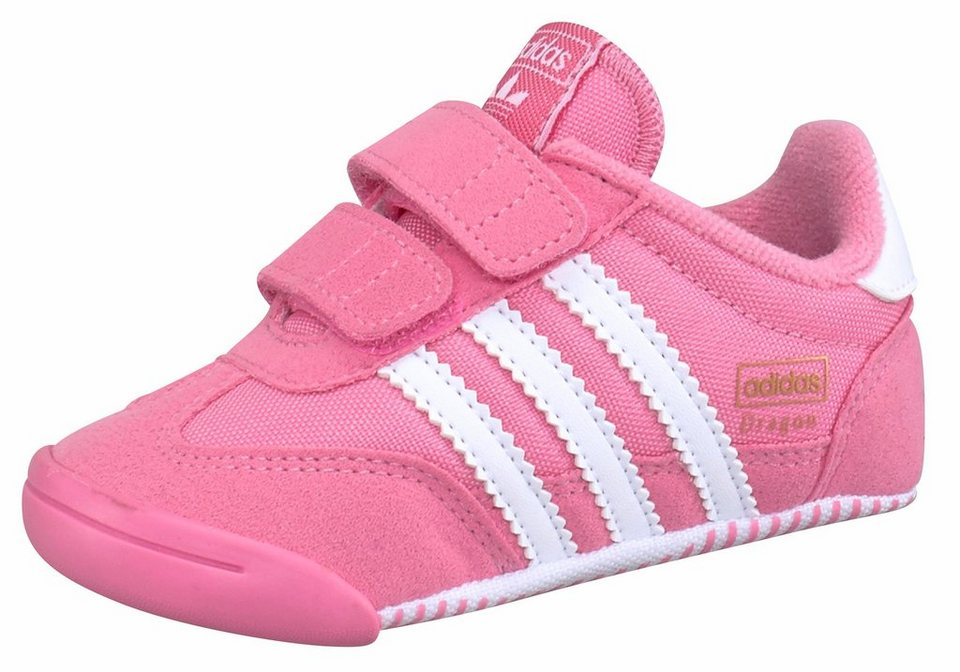 adidas Originals »Dragon L2W Crib« Lauflernschuh in rosa-weiß