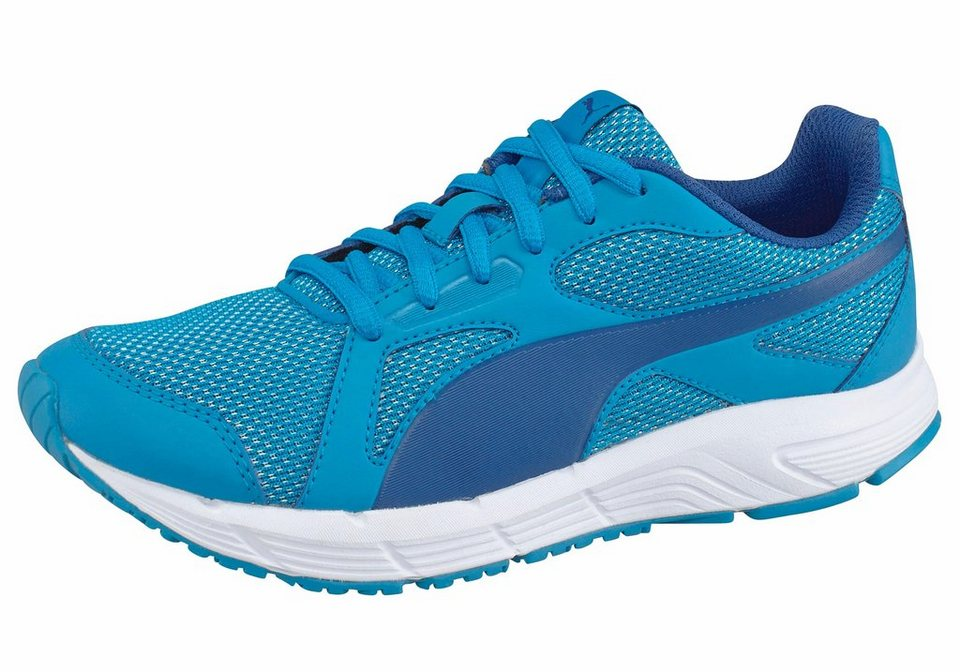 PUMA »Axis V4 Mesh Junior« Laufschuh in blau-weiß