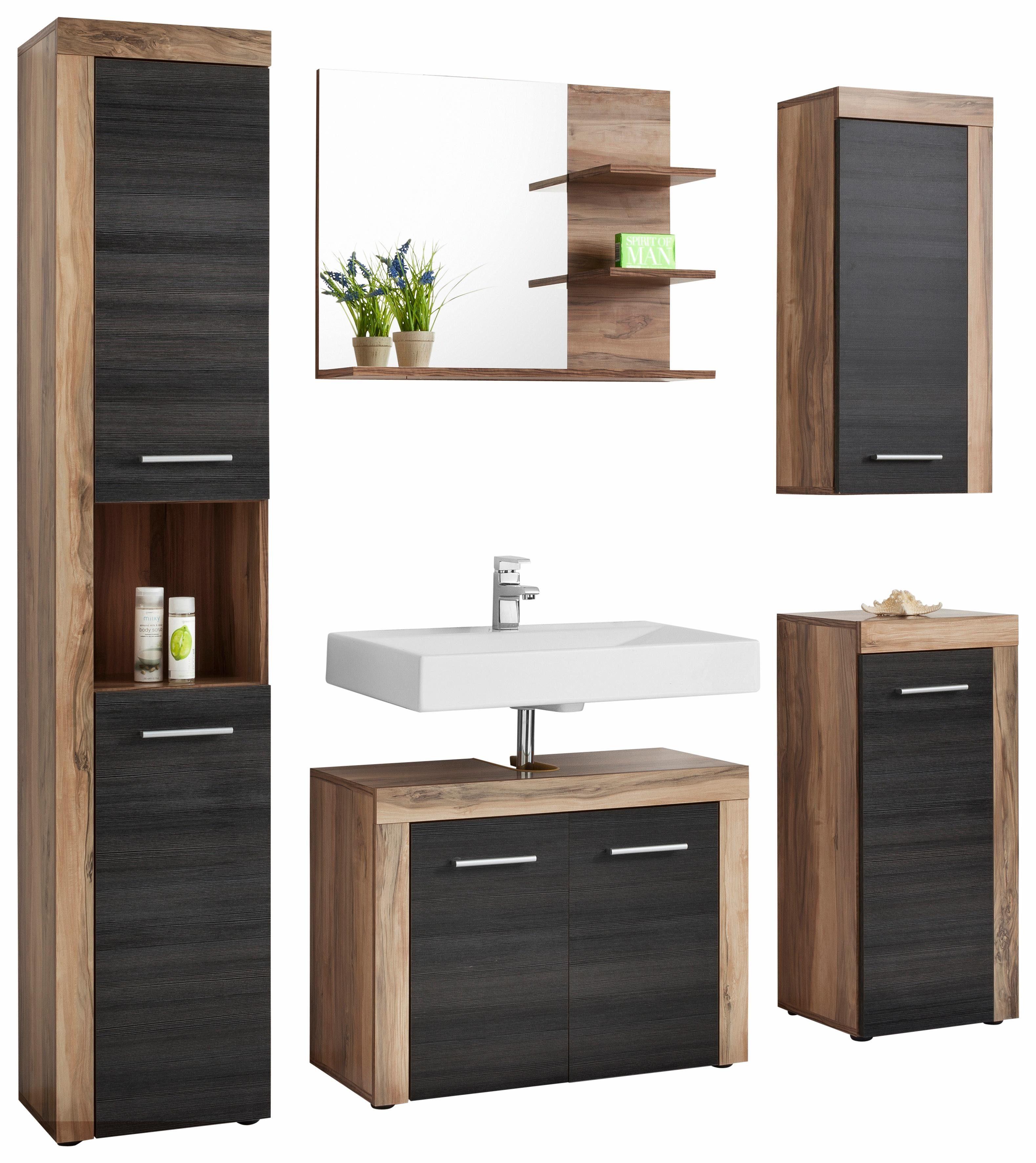 welltime badm bel set cancun 5 tlg mit struktur fronten online kaufen otto. Black Bedroom Furniture Sets. Home Design Ideas