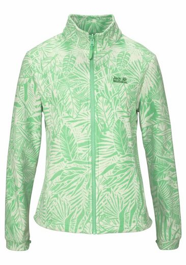 Jack Wolfskin Fleecejacke Kiruna Jungle, Indoor Jacket From The Series 3-in-1 System Short