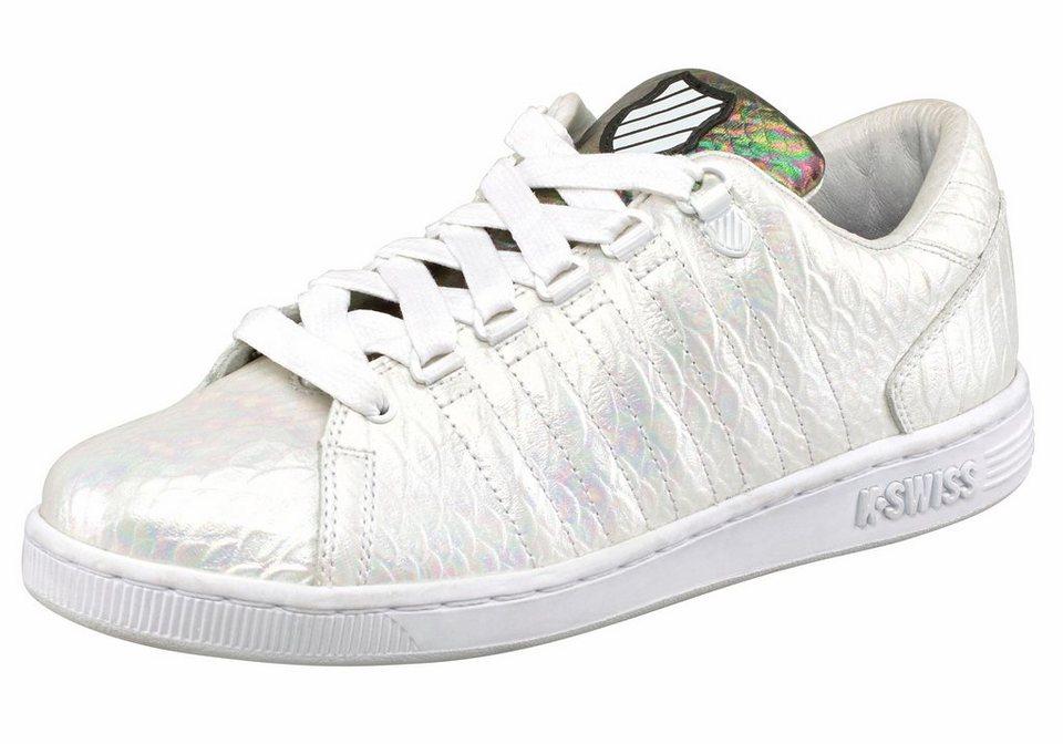 K-Swiss »Lozan III Reptile« Sneaker in weiß-schwarz