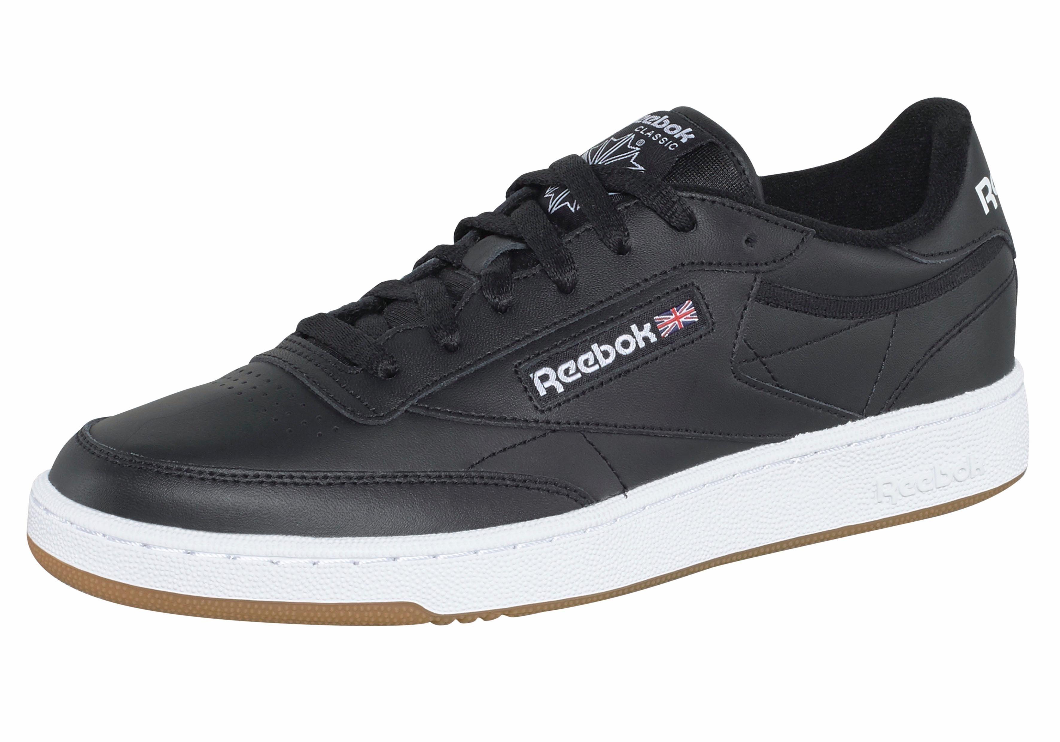 Reebok Classic »Club C 85« Sneaker, Atmungsaktives Obermaterial aus Leder online kaufen | OTTO