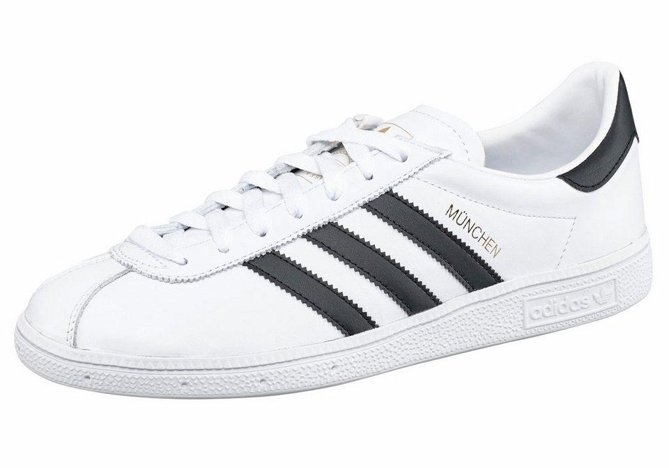 adidas Originals »München« Sneaker in weiß-schwarz