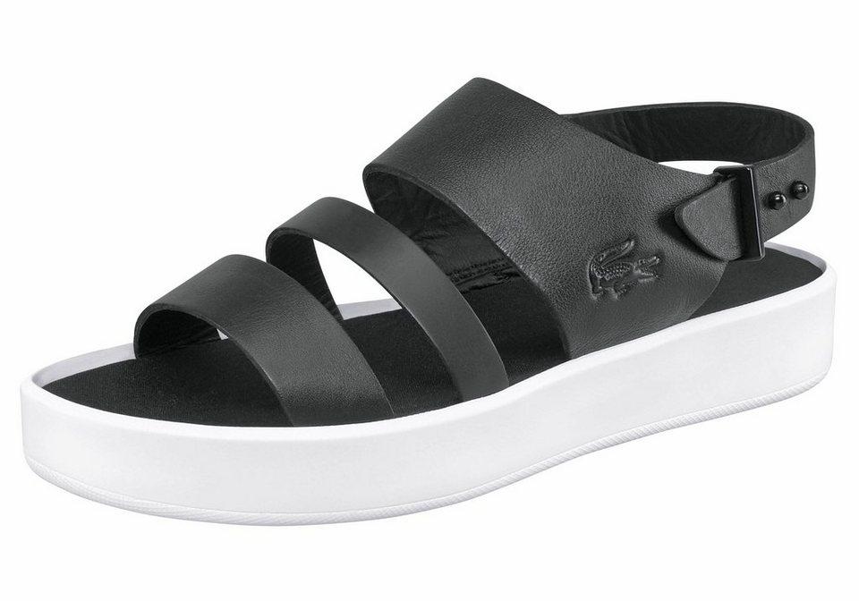 Lacoste »Pirle Sandal 117 1« Sandale in schwarz