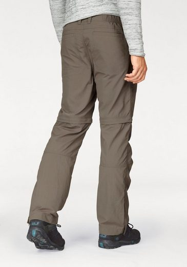 Jack Wolfskin Zip-off-Hose CANYON ZIP OFF, mit UPF 40+