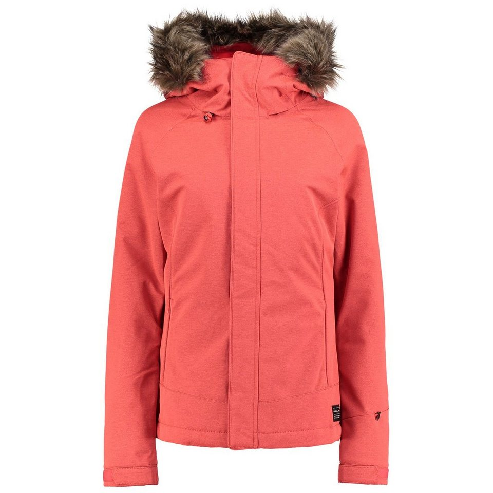 O'Neill Wintersportjacke »Curve« in Rosa/Rot