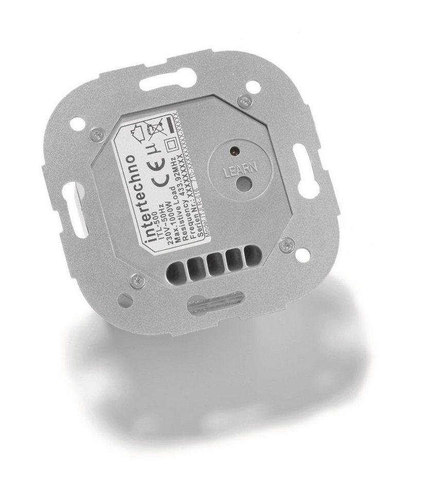intertechno - Smart Home - Steuerung & Komfort »ITL-500 Funk- Jalousieschalter« in silber