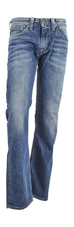 Pepe Jeans Jeans »KINGSTON ZIP« in Denim,blau