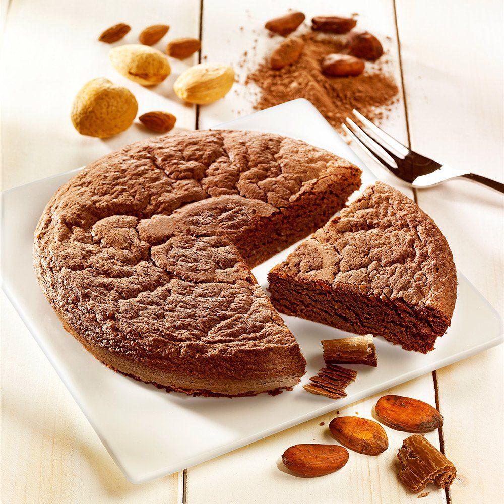 Biscuiterie de Provence Mandelkuchen mit Valrhona®-Schokolade Biscuiterie