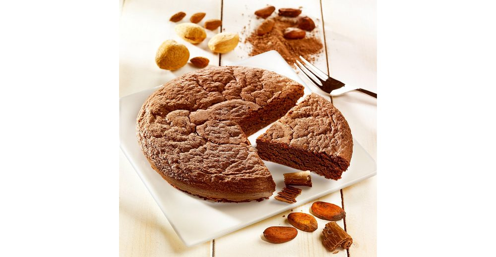 Biscuiterie de Provence Mandelkuchen mit Valrhona®-Schokolade Biscuiterie de Provence