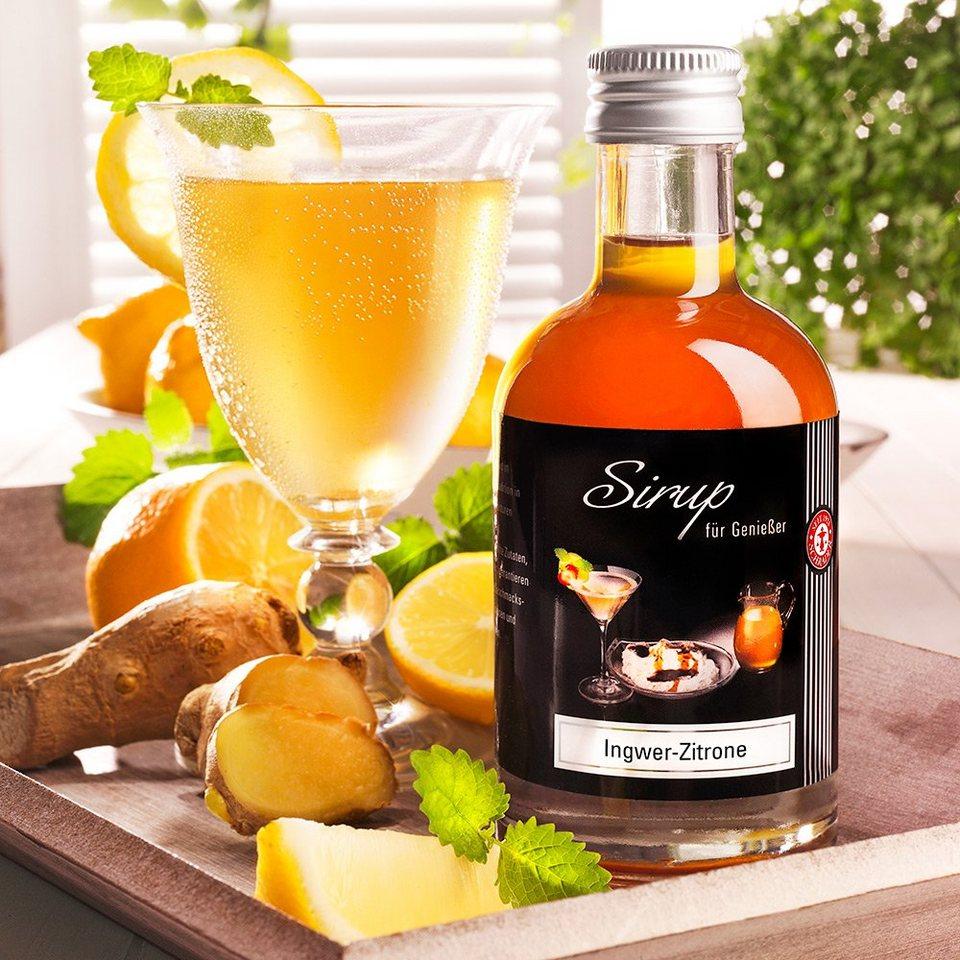 Schrader Ingwer-Zitronen-Sirup 200 ml