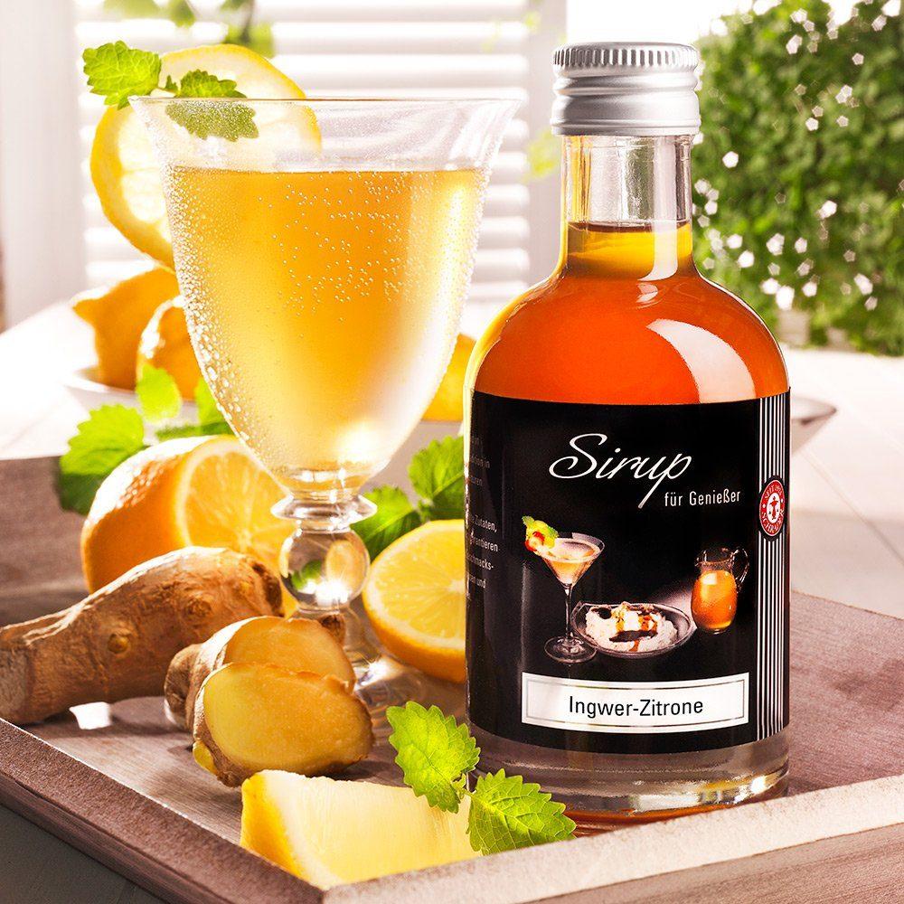 Schrader Sirup Ingwer-Zitrone