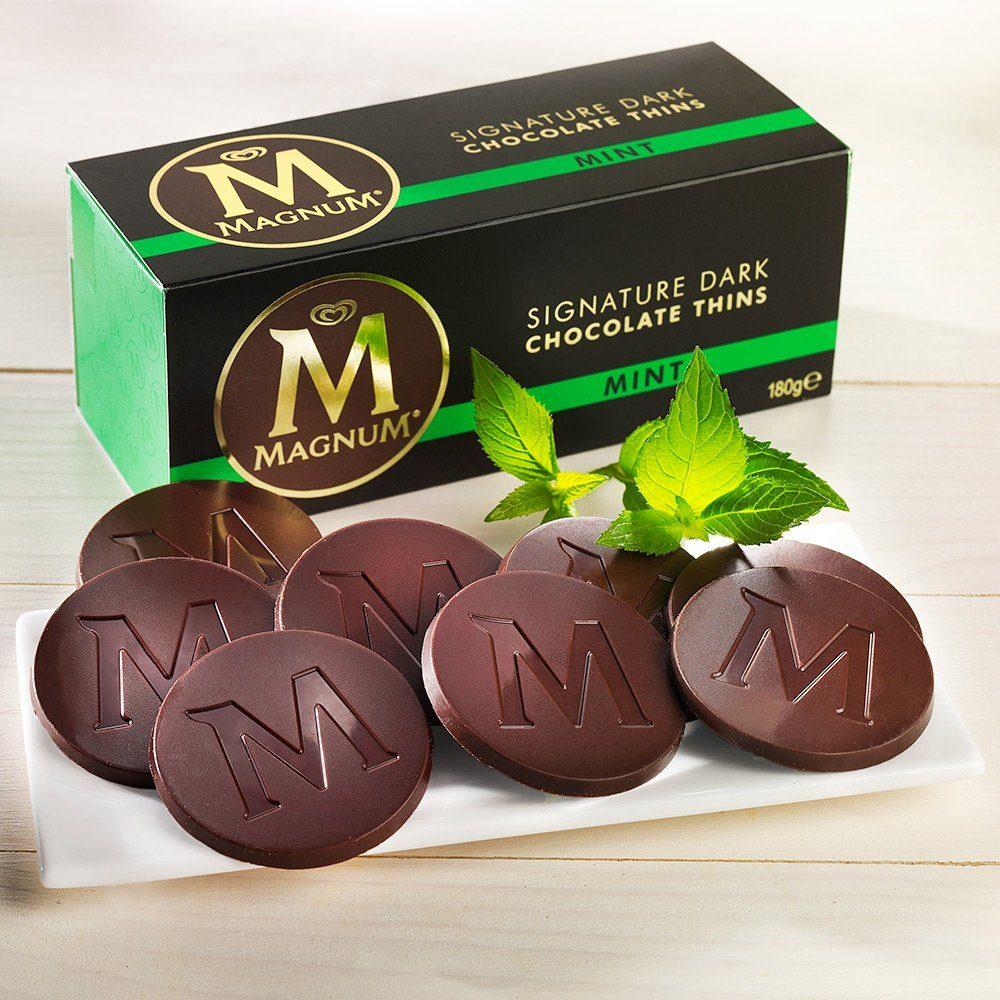 Magnum Magnum Zartbitterschokoladen-Minz-Taler