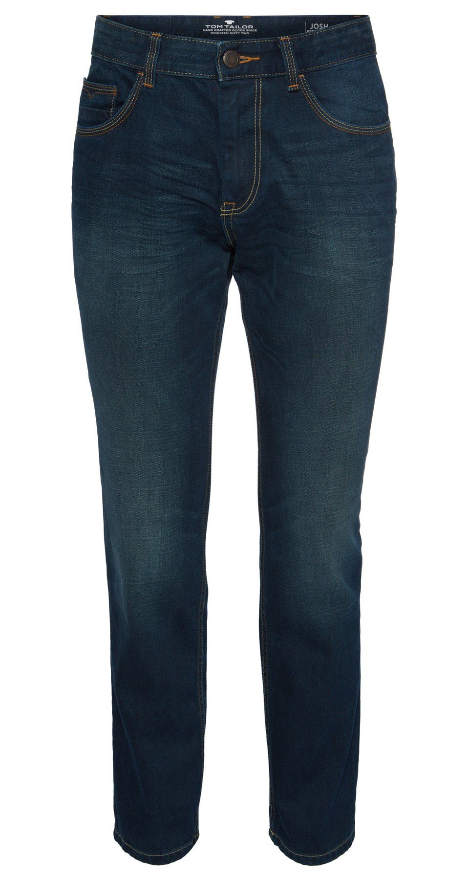 TOM TAILOR Jeans »Used-Jeans mit Crinkles«