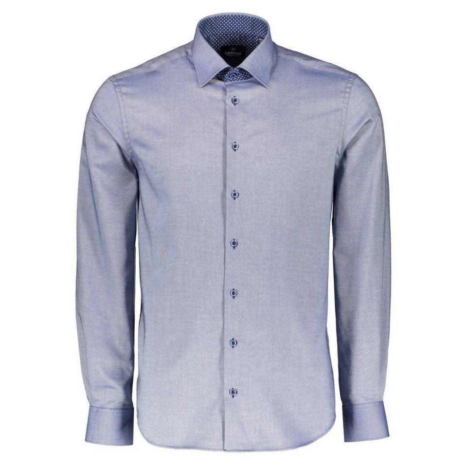 LERROS Premium Hemd Oxford-Qualität in GENTIAN BLUE