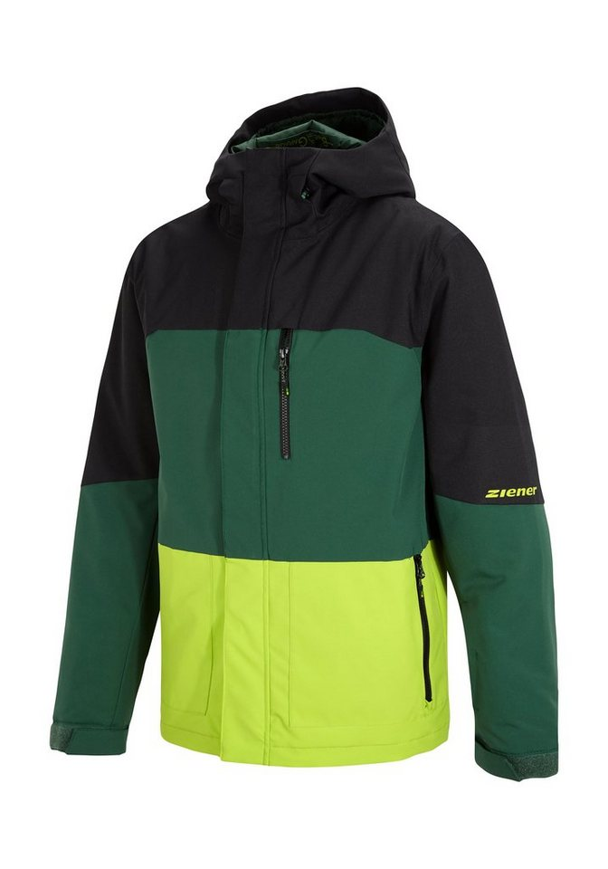 Ziener Jacke »TUJO man (jacket ski)« in apple green