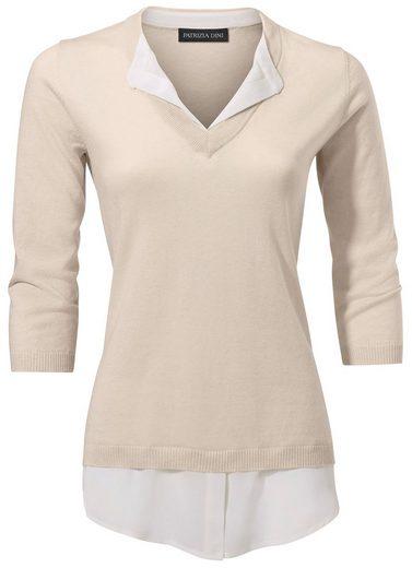 Patrizia Dini By Heine 2-in-1-pullover With Silk
