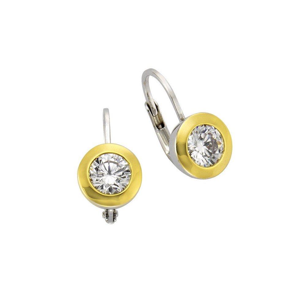 CELESTA Ohrhänger »925/- Sterling Silber« in mehrfarbig