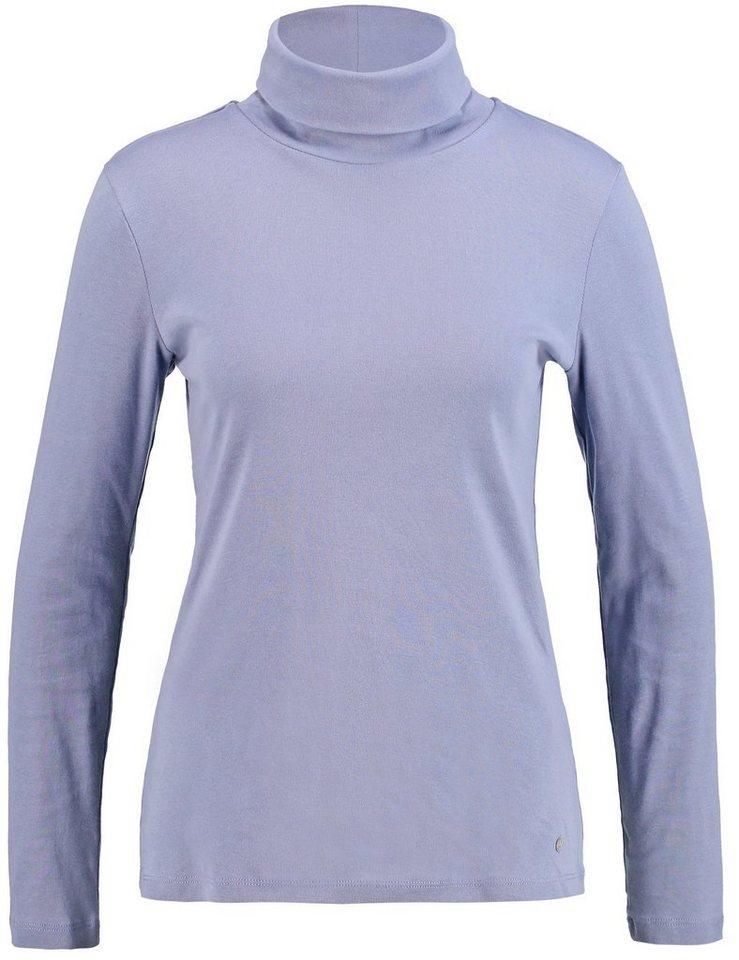 Gerry Weber T-Shirt Rollkragen »Langarmshirt mit Rollkragen« in Cloud