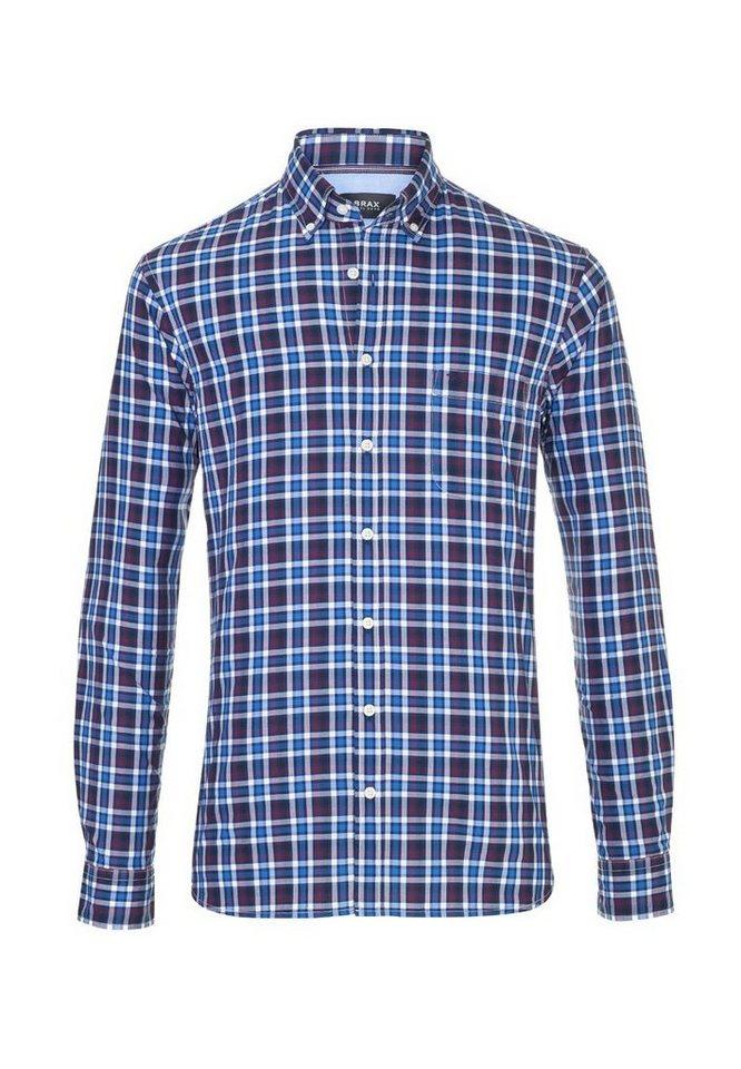 BRAX Herrenhemd »DANILO« in NAVY