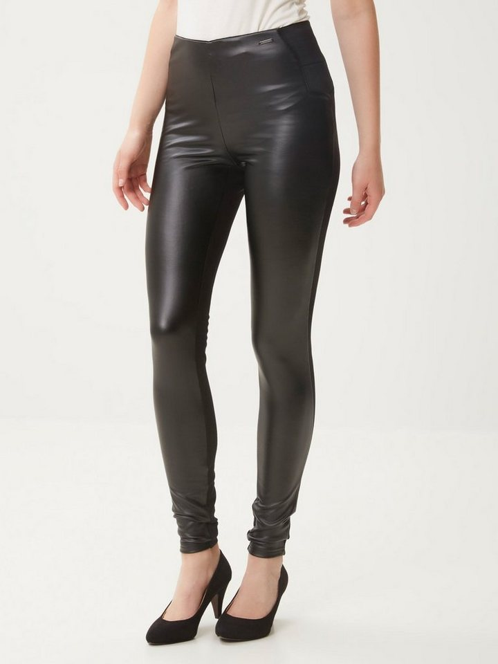 Vero Moda Kunstleder- Leggings in Black