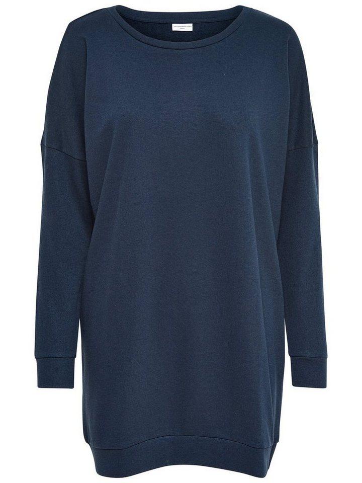 Only Oversize- Sweatshirt in Sky Captain