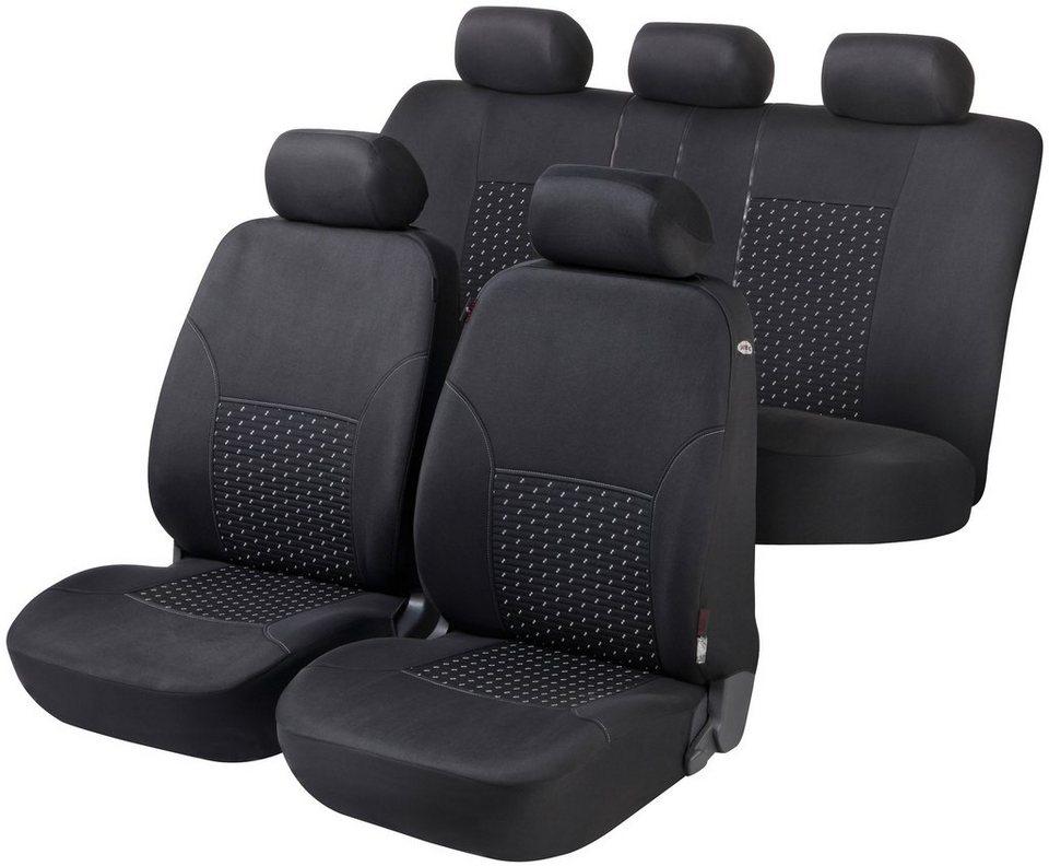 Set: Autositzbezug »DotSpot« in schwarz-grau