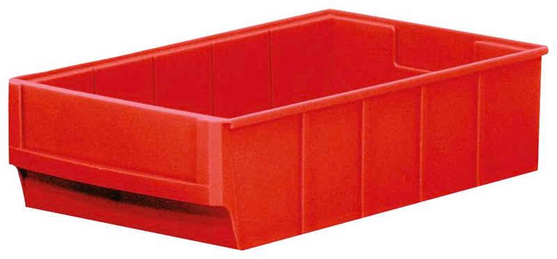 Regalkorb »Profi« (12 Stück), BxTxH: 18,3x30x8,1 cm, Polypropylen