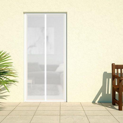 hecht international Insektenschutz-Vorhang »DELUXE«, weiß, BxH: 100x220 cm
