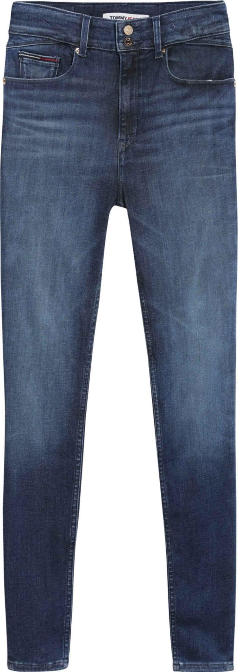 Tommy Jeans Skinny-fit-Jeans »SHAPE HR SKNY BE352 DBDYSHP« mit Push-up Effekt für einen perfekten Sitz