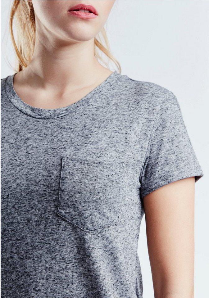 Levi's® T-Shirt in blau-grau-meliert