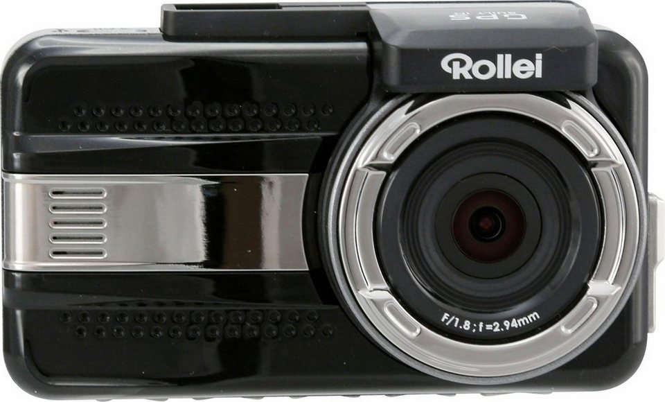 Rollei Dual CarDVR-1000 1440p Auto-Camcorder, GPS