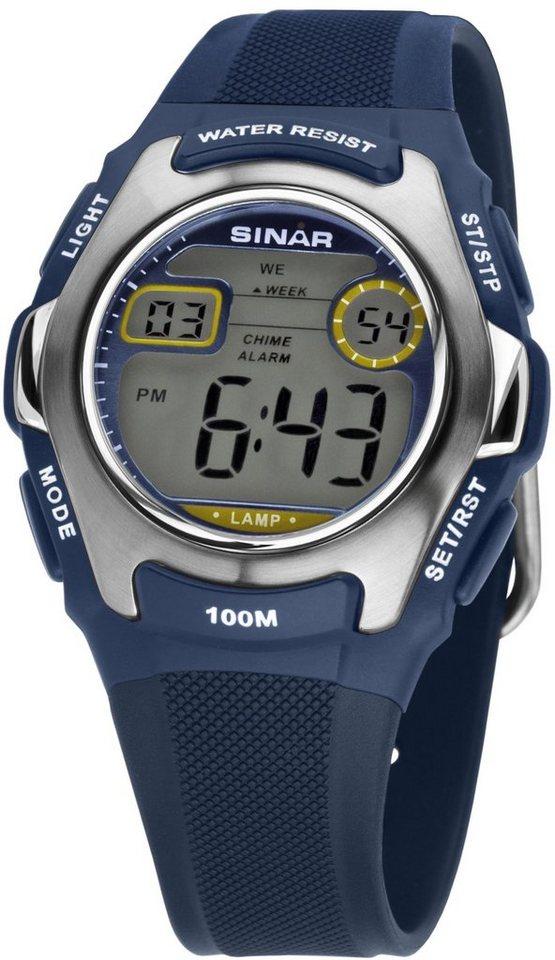 SINAR Chronograph »XE-50-2« in blau