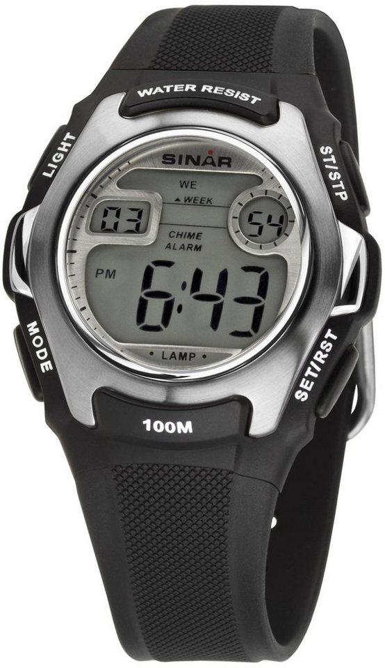 SINAR Chronograph »XE-50-1« in schwarz