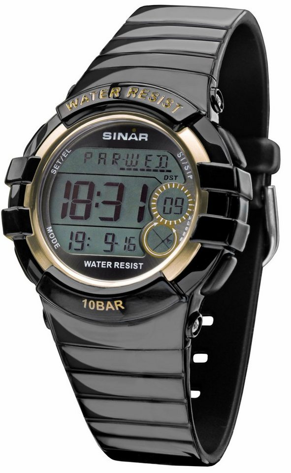 SINAR Chronograph »XA-20-15« in schwarz