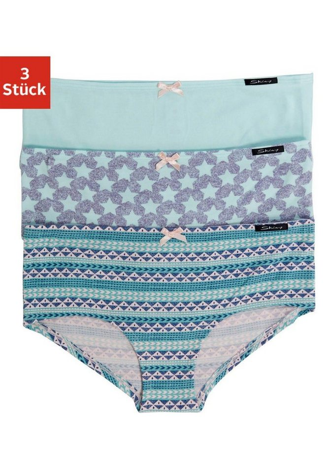 Skiny Panties (3 Stück) »Arctic Selection« in ethno/pri/tü