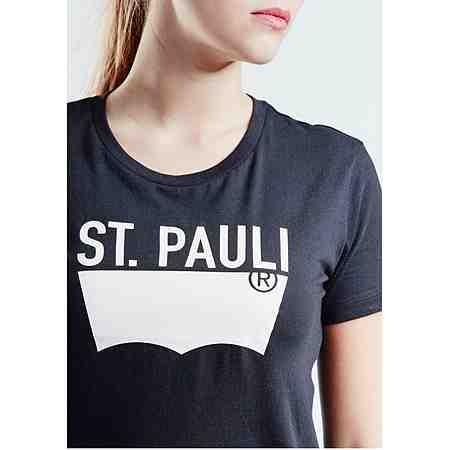 Levi's® T-Shirt St. Pauli mit Logoprint