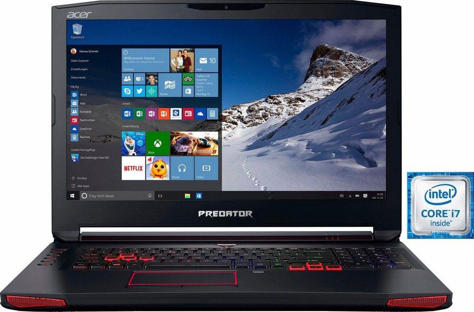 Acer Predator 17 (G9-793-79NC) Notebook, Intel® Core™ i7, 43,9 cm (17,3 Zoll), 1256 GB Speicher in schwarz
