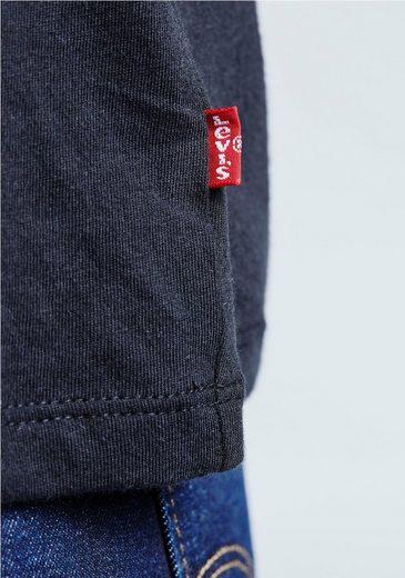 Levi's® T-Shirt Batwing Perfect Tee, Mit Logoprint