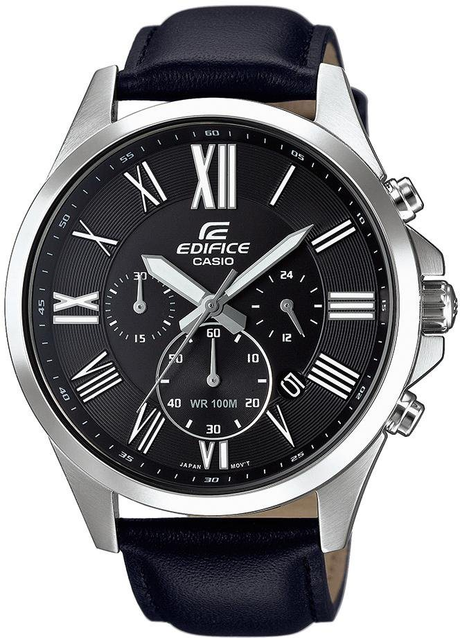 Casio Edifice Chronograph »EFV-500L-1AVUEF« in grau