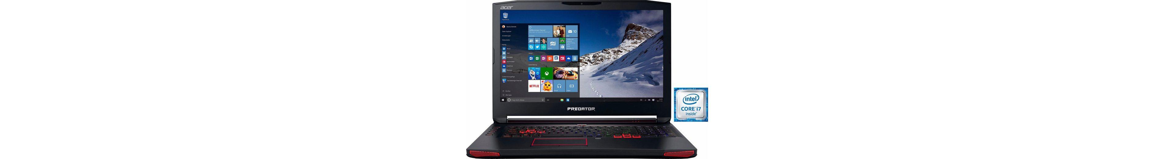 Acer Predator 17 (G9-793-72AT) Notebook, Intel® Core™ i7, 43,9 cm (17,3 Zoll), 1512 GB Speicher