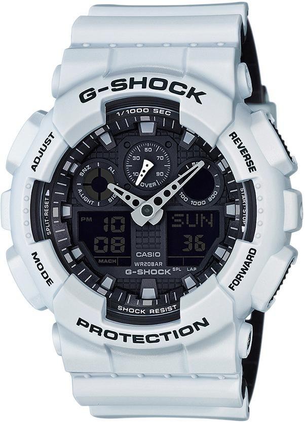 Casio G-Shock Chronograph »GA-100L-7AER« in hellgrau