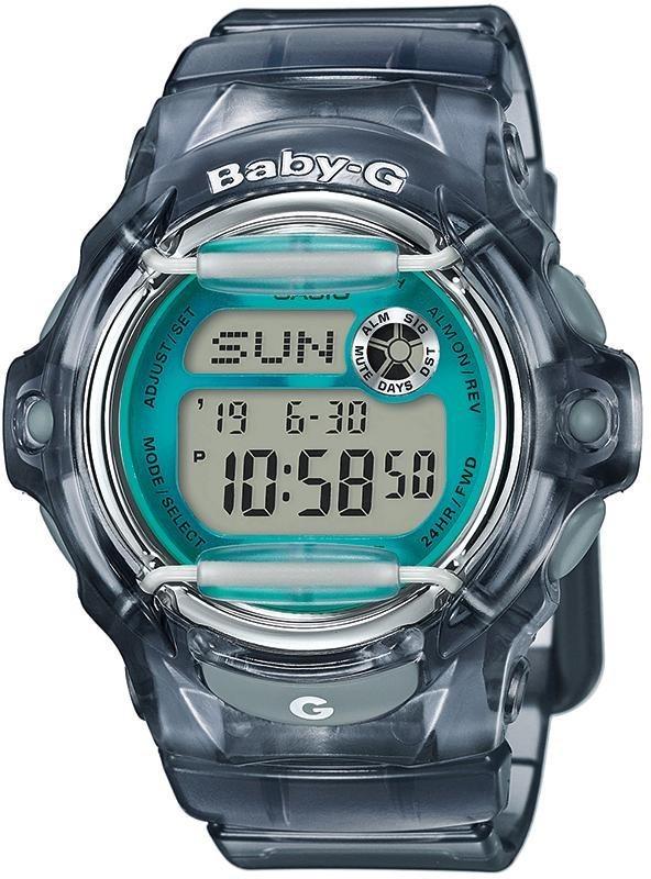 Casio Baby-G Chronograph »BG-169R-8BER« in anthrazit-transparent