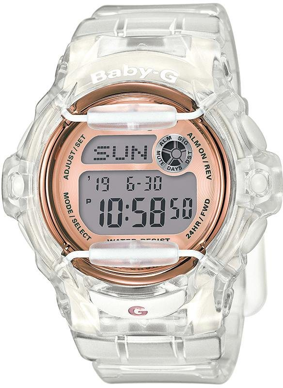 Casio Baby-G Chronograph »BG-169G-7BER« in transparent