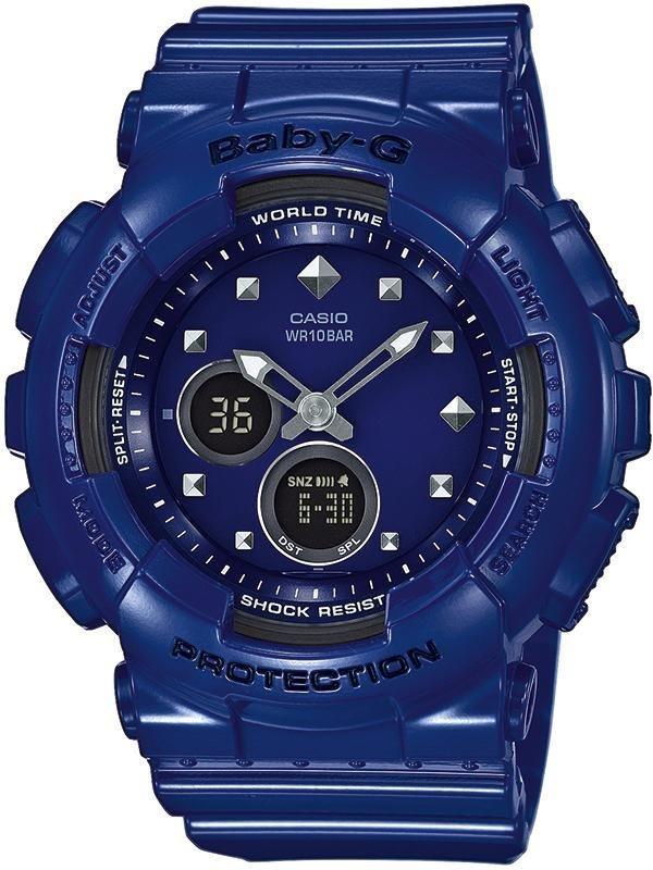 Casio Baby-G Chronograph »BA-125-2AER« in blau