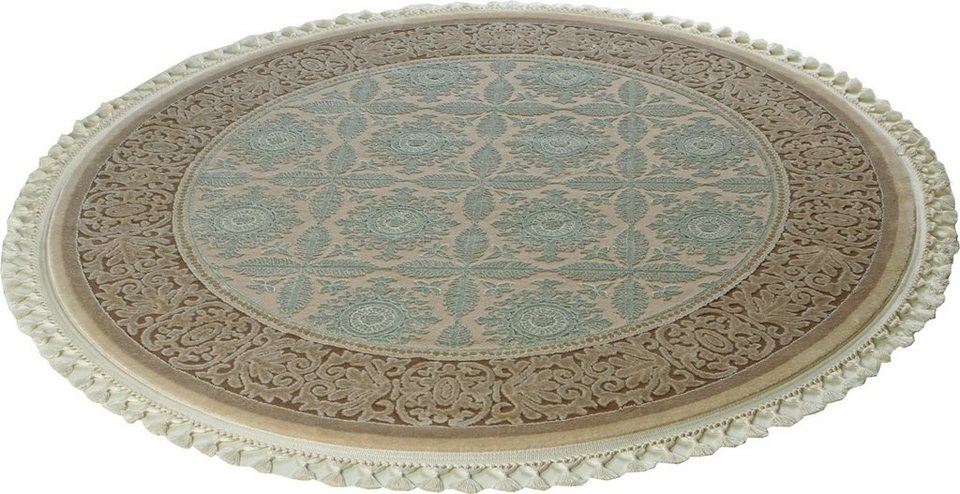 Teppich rund  Orient-Teppich, rund, Sanat Hali, »Delüks 6825«, gewebt online ...