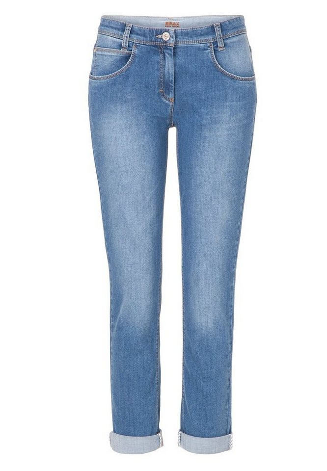 BRAX Jeans »MONTANA STRAIGH« in STONE BLUE