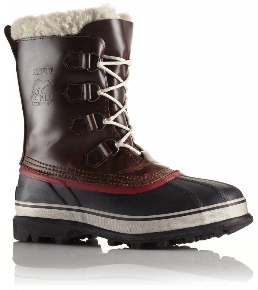 Sorel Stiefel »Caribou WL Boots Men« in braun